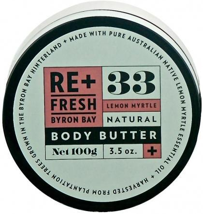 ReFresh Byron Bay Lemon Myrtle Body Butter 100gm-Health Tree Australia