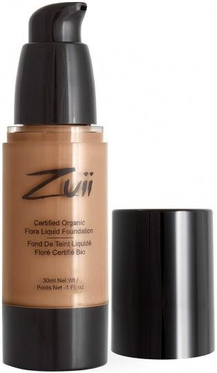 Zuii Flora Liquid Foundation Natural Beige 30ml-Health Tree Australia