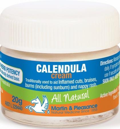 Martin & Pleasance Calendula Cream x20gm-Health Tree Australia