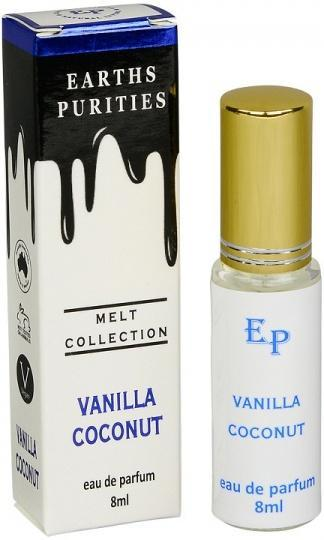 Earths Purities Melt Collection Vanilla Coconut Eau De Parfum 8ml