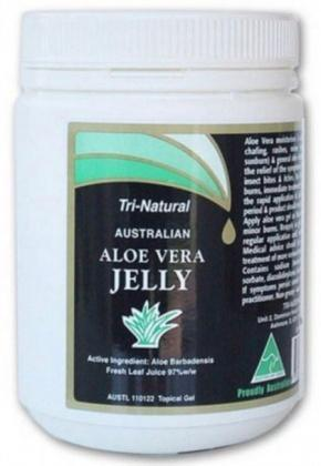 Tri-Natural Aloe Vera Jelly 98% Allantoin 1lt Tub-Health Tree Australia