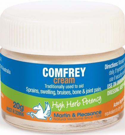 Martin & Pleasance Comfrey Cream x20gm-Health Tree Australia