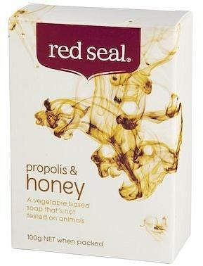 Red Seal Propolis & Honey Soap 100gm