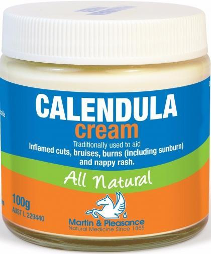 Martin & Pleasance Calendula Cream x100gm-Health Tree Australia