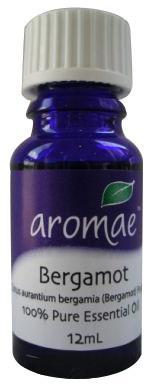 Aromae Bergamot Essential Oil 12mL-Health Tree Australia
