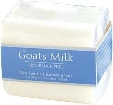 Goats Milk Fragrance Free Soap 2x100g-Health Tree Australia