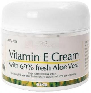 Tri-Natural Vitamin E Cream 250gm-Health Tree Australia