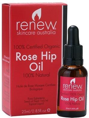 Renew Certified Organic Rose Hip Oil 25ml-Health Tree Australia