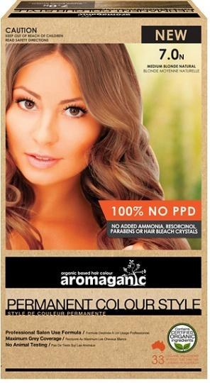 Aromaganic 7.0N Blonde (Natural)-Health Tree Australia