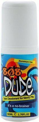 808 DUDE Teen Deodorant for Stinky Pits Roll On 50ml