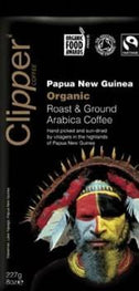Clipper Papua New Guinea Roast & Ground Arabica Coffee 227gm-Health Tree Australia
