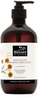 Blessed By Nature Beauty Elixir Botanical Body Lotion 500ml