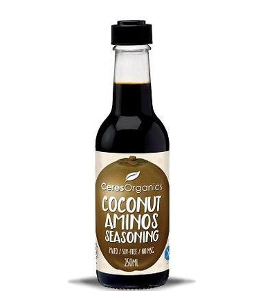 Ceres Organics Coconut Aminos Seasoning 250ml-Health Tree Australia