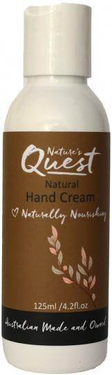 Nature's Quest Hand Cream 125ml