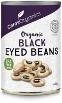 Ceres Organics Black Eyed Beans 400g (Can)