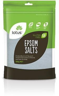 Lotus Epsom Salts G/F 500g