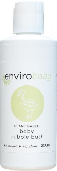 Enviro Care Baby Bubble Bath 200ml New