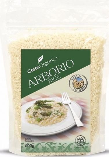 Ceres Organics Rice Arborio 500g-Health Tree Australia