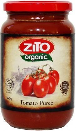 Zito Tomato Puree 350g Jar-Health Tree Australia