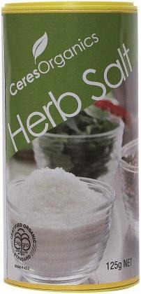Ceres Organics Herb Salt 125g-Health Tree Australia