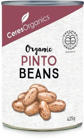 Ceres Organics Pinto Beans 425g (Can)-Health Tree Australia