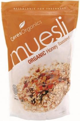 Ceres Organics Muesli Honey Toasted 800g-Health Tree Australia