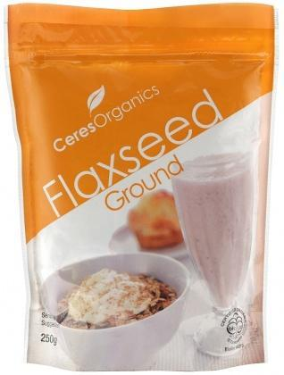 Ceres Organics Flaxseed Ground 250g (Grnd Linseed)-Health Tree Australia