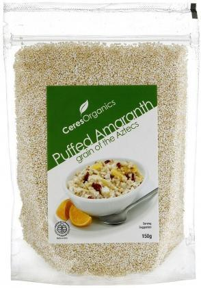 Ceres Organics Puffed Amaranth 150g-Health Tree Australia