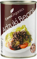 Ceres Organics Adzuki Beans 400g (Can)-Health Tree Australia