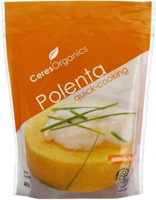 Ceres Organics Polenta Quick Cooking 400g-Health Tree Australia