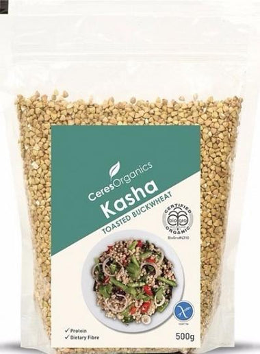 Ceres Organics Kasha Toasted Buckwheat 500g-Health Tree Australia