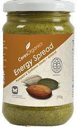 Ceres Organics Energy Spread Pumpkin, Sunflower Seed & Almond 290g-Health Tree Australia