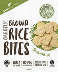 Ceres Organics Organic Brown Rice Bites Green Tea & Seaweed G/F 100g Box