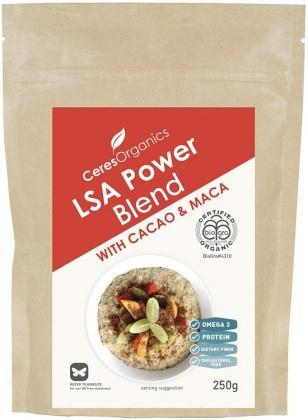 Ceres Organics Bio LSA Power Blend With Cacao & Maca 250g-Health Tree Australia