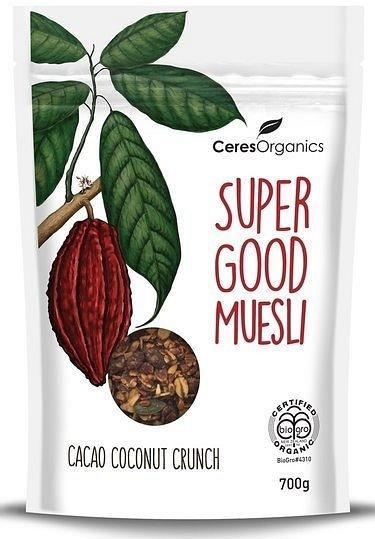 Ceres Organics Super Good Muesli Cacao Coconut Crunch 700g-Health Tree Australia