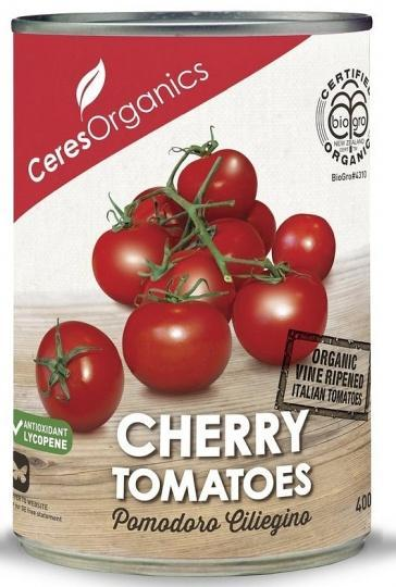 Ceres Organics Cherry Tomatoes 400g (Can)-Health Tree Australia