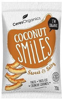 Ceres Organics Bio Coconut Smiles Sweet & Salty 70g-Health Tree Australia