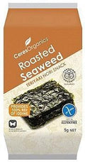 Ceres Organics Roasted Seaweed Teriyaki Snacks G/F 5g