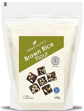 Ceres Organics Brown Rice Flour 450g-Health Tree Australia