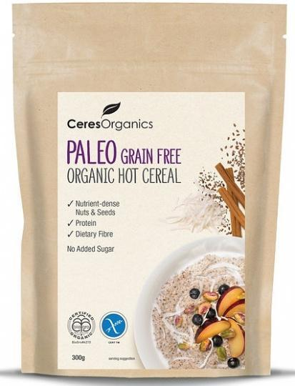 Ceres Organics Hot Cereal Paleo Grain Free 300g-Health Tree Australia