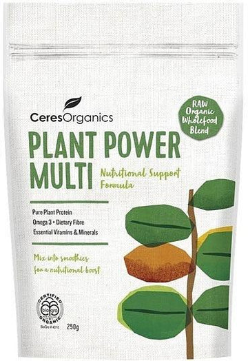 Ceres Organics Plant Power Multi Wholefood Blend 250g