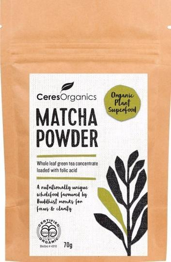 Ceres Organics Matcha Powder 70g-Health Tree Australia