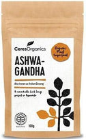 Ceres Organics Ashwangandha Powder 100g-Health Tree Australia