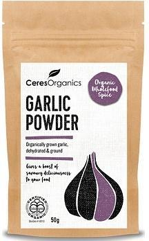 Ceres Organics Garlic Powder 50g-Health Tree Australia