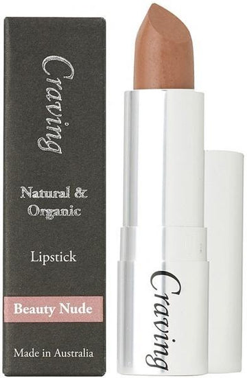 Craving Natural & Organic Beauty Nude Lipstick