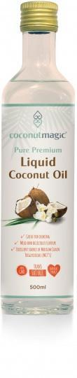 Coconut Magic Pure Premium Liquid Coconut Oil G/F 500ml