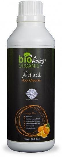 Bio Living Organic Natural Floor Cleaner Orange 1L-Health Tree Australia