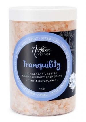 Nirvana Himalayan Crystal Salt Tranquility Scented Bath Salts 600gm