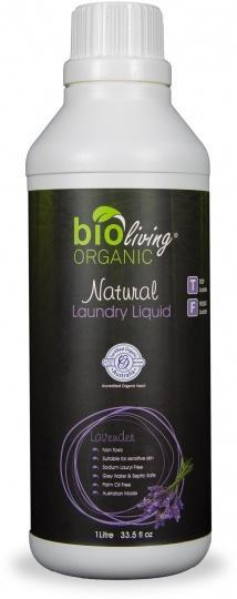 Bio Living Organic Natural Laundry Liquid Lavender 1L-Health Tree Australia