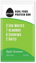 Googys Natural Protein Bar Apple Cinnamon G/F 12x55g